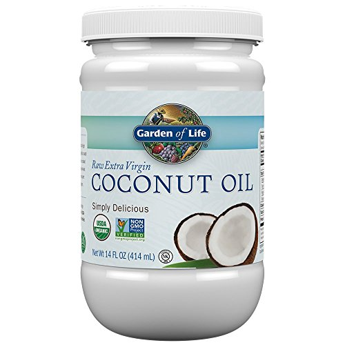 From USA Garden of Life Organic Extra Virgin Coconut Oil - Unrefined Cold Pres