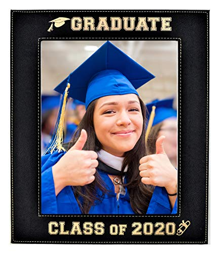 (FROM USA) GIFT FOR GRADUATE - CLASS OF 2020 PICTURE FRAME – An Elegant Blac
