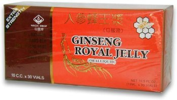 (FROM USA) Ginseng Royal Jelly (Extra Strength)- Oral Liquid In Vials (10ml x