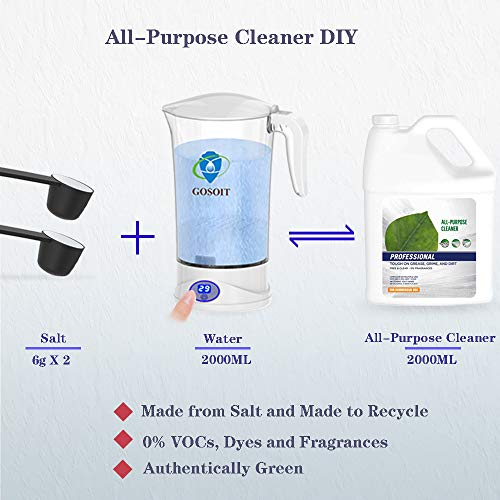 (FROM USA) GOSOIT All Purpose Multi-Purpose Cleaner Maker Machine Make Deterge