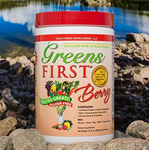 (FROM USA) Greens First - Berry - 30 Servings - 10.16 Ounce