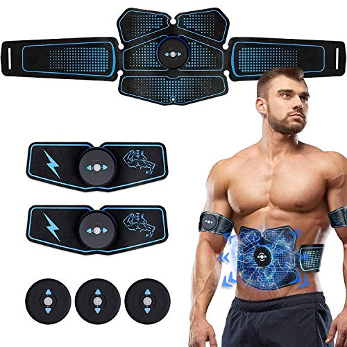 (FROM USA) Gubana Abs Stimulator Abdominal Muscle,Ab Stimulator Body Toning Fi