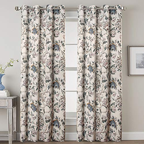 (FROM USA) H.VERSAILTEX Blackout Curtains for Bedroom Thermal Insulated Room D