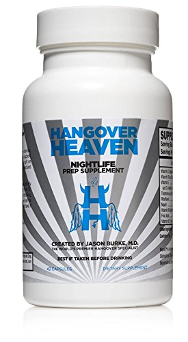 (FROM USA) Hangover Support Supplement- Hangover Support, Nightlife Prep Suppl