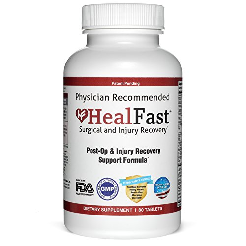 (FROM USA) HealFast Surgery  & Injury Recovery Supplement (Post-Op): Supports