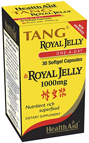 (FROM USA) Health Aid, Tang Royal Jelly 1000mg, 30 Softgel Capsules