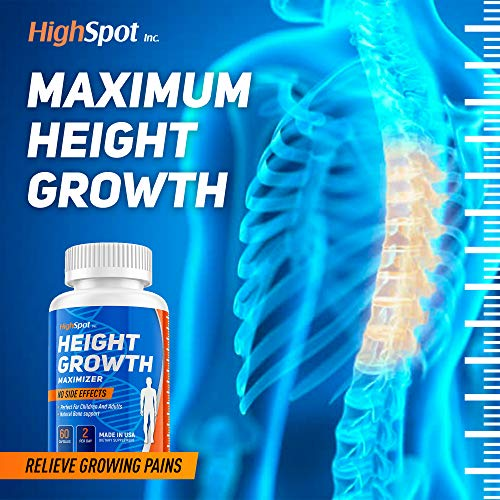 (FROM USA) Height Growth Maximither - Natural Peak Height - Organic Formula to