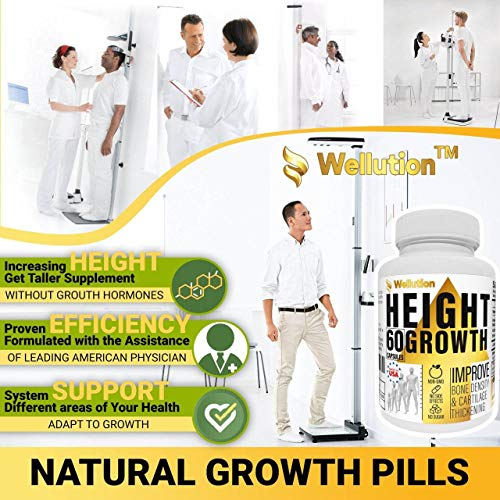 (FROM USA) Height Growth Maximizer Supplement - Natural Height Pills to Grow T