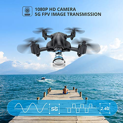 From USA Holy Stone HS165 GPS FPV Drones with Camera for Adults 1080P HD, Fold