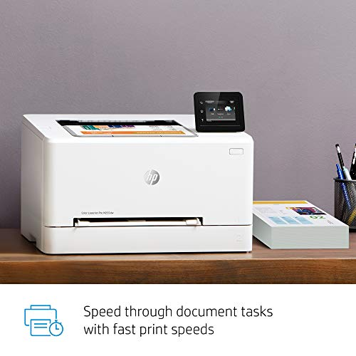 From USA HP Color LaserJet Pro M255dw Wireless Laser Printer, Remote Mobile Pr