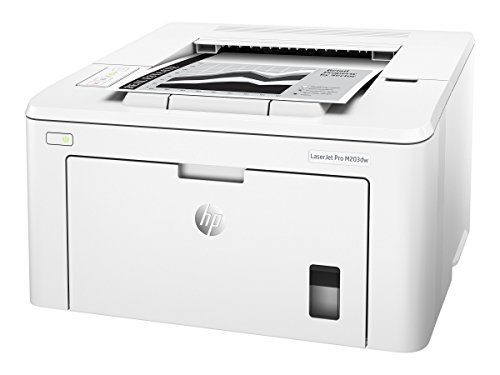 From USA HP LaserJet Pro M203dw Wireless Laser Printer, Works with Alexa (G3Q4
