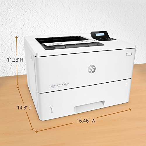 From USA HP Laserjet Pro M501dn Duplex Printer with One-Year, Next-Business Da