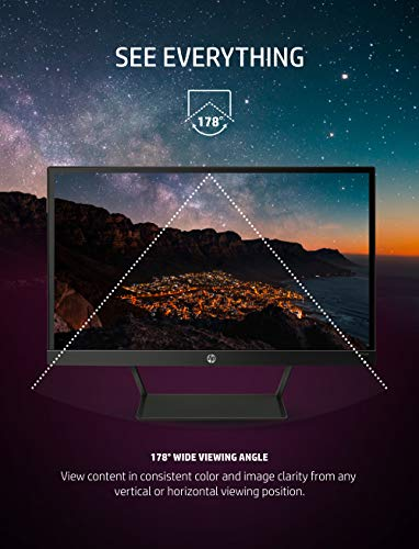 From USA HP Pavilion 22cwa 21.5-Inch Full HD 1080p IPS LED Monitor, Tilt, VGA