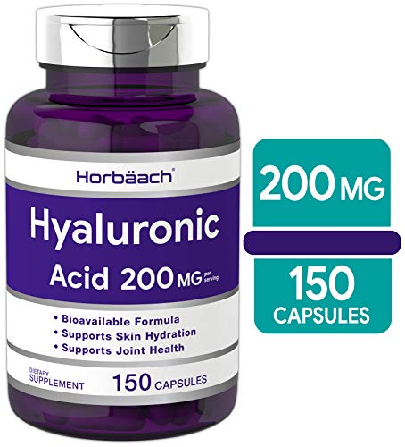 (FROM USA) Hyaluronic Acid Capsules 200 mg 150 Count | Supports Joint and Skin