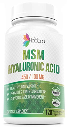 [From USA] Hyaluronic Acid and MSM Nutritional Supplement 450/100mg –  Anti-I