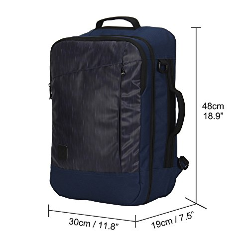 (FROM USA) Hynes Eagle 28L Aurora Travel Backpack Flight Approved Carry on Bac