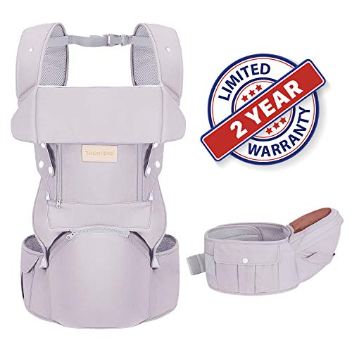 [From USA]Infant Baby Wrap Carrier with Stool - All Positions Baby Carrier Bab