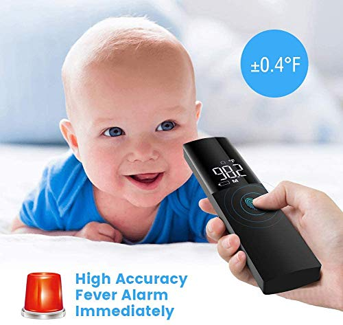 [From USA] Infrared Forehead for Adults, Baby ℉and℃ Switch Each Other Huma