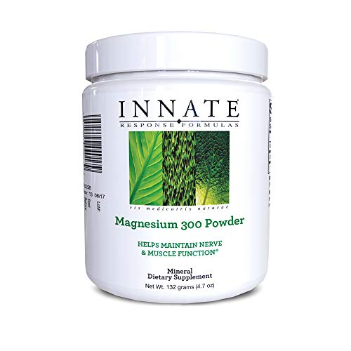 (FROM USA) INNATE Response Formulas, Magnesium 300 Powder, Mineral Supplement,