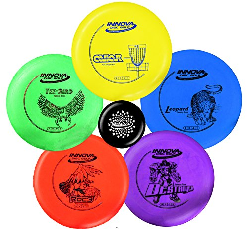 From USA Innova Disc Golf Starter Set – Colors May Vary 160-180g – DX Putt