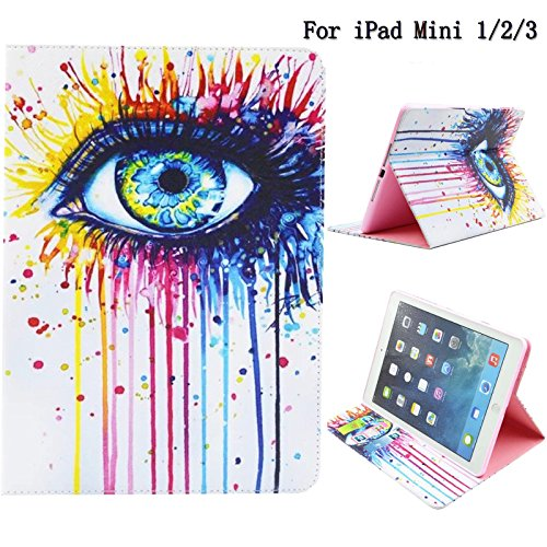 [From USA]iPad Mini Case iPad Mini 2/3 Cover Newshine Colorful Synthetic Leath