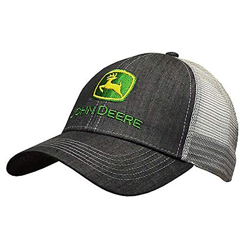 (FROM USA) John Deere Dark Denim Style Mesh Back Hat