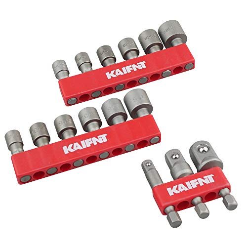 [From USA]KAIFNT K404 Quick-Change Power Socket Adapter Set with Nut Driver Bi