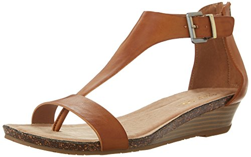 From USA Kenneth Cole REACTION Women's Gal T-Strap Wedge Sandal