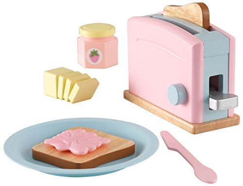 [From USA]KidKraft Pastel Toaster Playset.