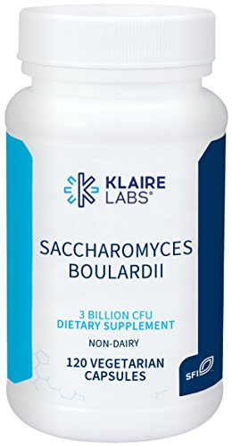 (FROM USA) Klaire Labs Saccharomyces Boulardii - 3 Billion CFU Powerful Shelf-
