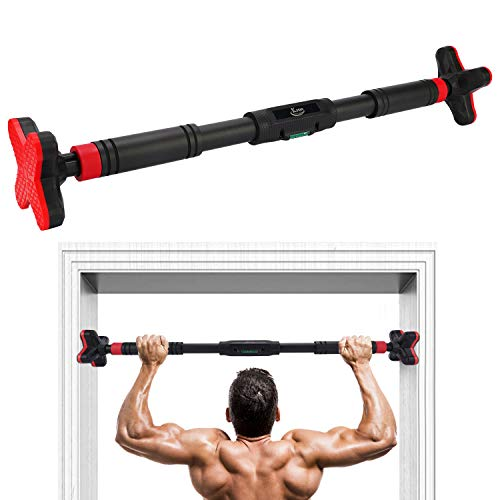 From USA KMM Pull Up Bar for Doorway, Chin Up Bar No Screw Installation, Upper