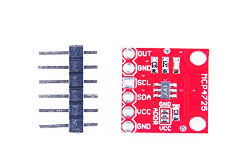 [From USA]KNACRO MCP4725 12 Bit I2C DAC Module Development Board Breakout Boar