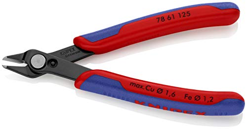 [From USA]KNIPEX Tools 78 61 125 5-Inch Electronics Super Knips Comfort Grip
