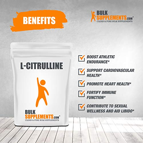 (FROM USA) L-Citrulline Powder by BulkSupplements (1 Kilogram)