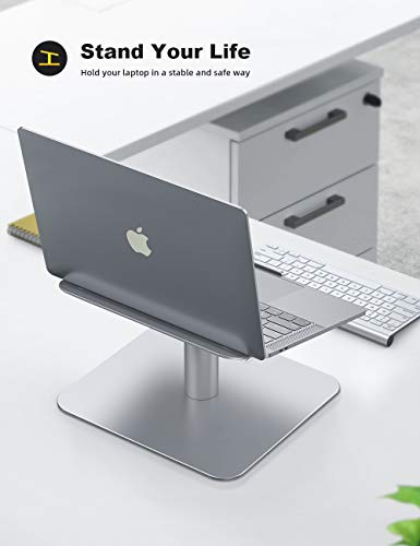 From USA Laptop Notebook Stand, Lamicall Laptop Riser: [360-Rotating] Desktop