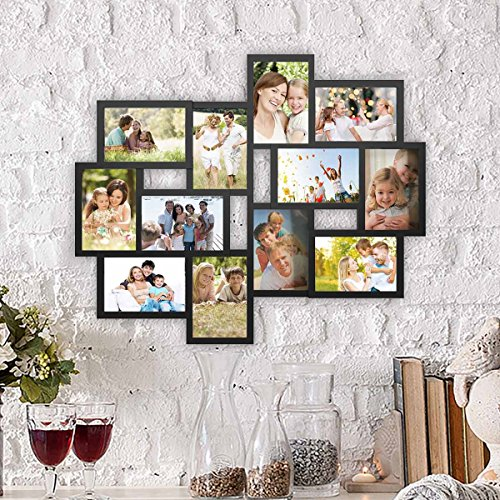 (FROM USA) Lavish Home 80-COLL-1 Collage Picture 12 Openings for 4x6 Wall Hang