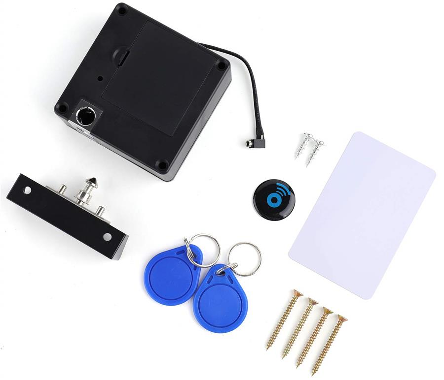 [From USA] Lawei Electronic Cabinet Lock Kit Set