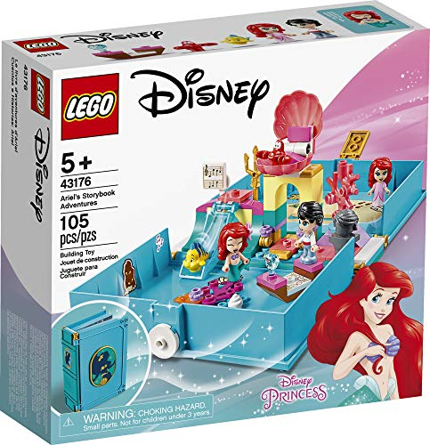 From USA LEGO Disney Ariel's Storybook Adventures 43176 Creative Little Merm