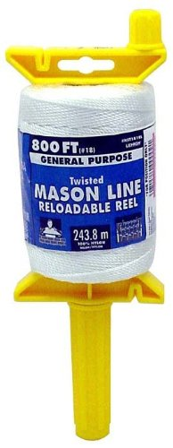 [From USA]Lehigh Secure Line NST181RL Reloadable Reel Mason Line 800-Foot