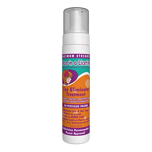 [From USA]Lice Eliminator Mousse – Once in a Licetime All-Natural Lice Remov