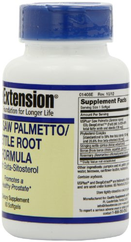 (FROM USA) Life Extension Palmetto Guard Saw Palmetto/Nettle Root with Beta Si