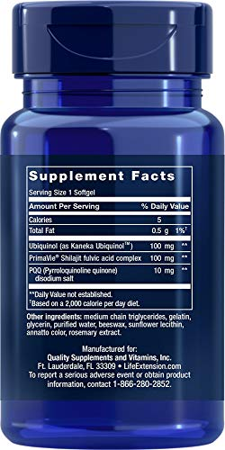 (FROM USA) Life Extension Super Ubiquinol CoQ10 with PQQ, 30 Softgels. Pack of