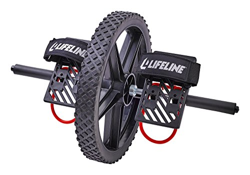 (FROM USA) Lifeline Power Wheel for At Home Full Body Functional Fitness Stren