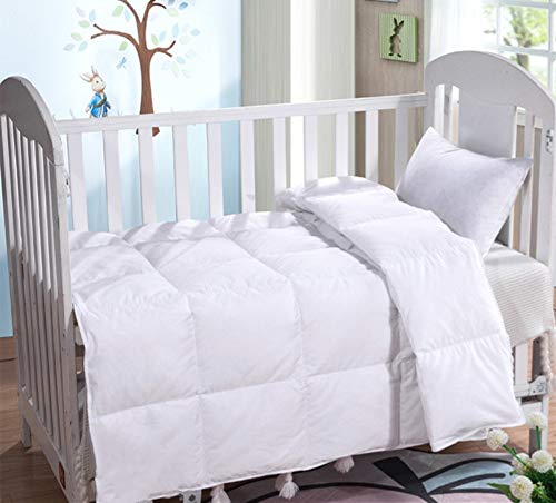 [From USA]Lightweight Summer Baby/Toddler White Goose Down Blanket Comforter D
