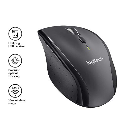 From USA Logitech M705 Marathon Wireless Mouse – Long 3 Year Battery Life, E