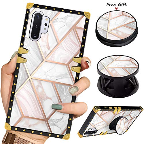 [From USA]Luxury Square Phone Case Samsung Galaxy Note 10+Plus/Note 10 Plus 5G