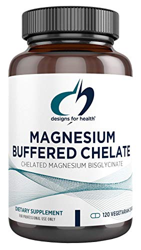 (FROM USA) Magnesium Buffered Chelate by Designs for Health - Magnesium Supple