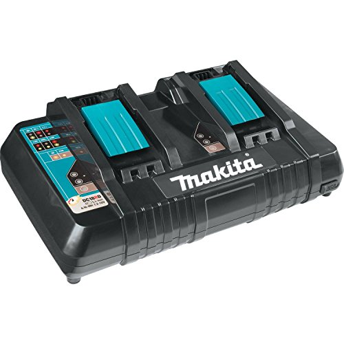 From USA Makita BL1850B2DC2 5.0 Ah 18V LXT Lithium-Ion Battery and Dual Port C
