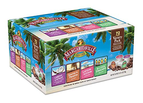 (FROM USA) Margaritaville Variety Pack for K Cup Keurig 2.0 Brewers, Margarita