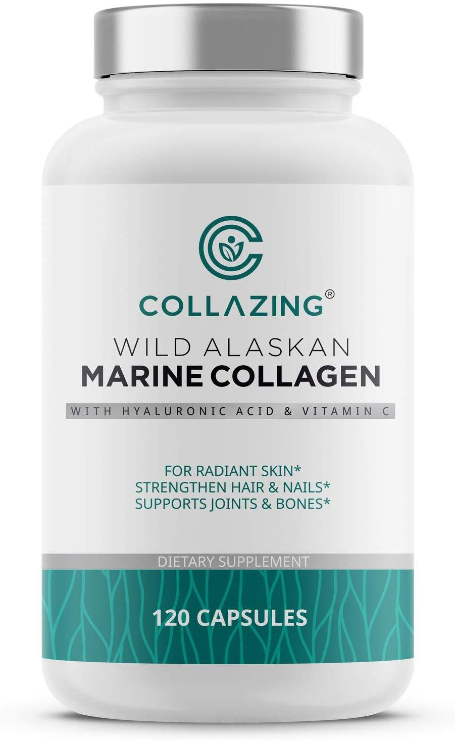 [USA]Marine Collagen Protein Peptides with Hyaluronic Acid /Vitamin C